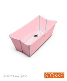 Stokke Flexi Bath Pink