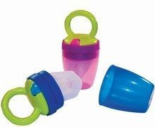 Sassy Teething Feeder PINK