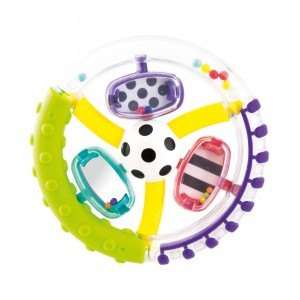 Wonder Wheel Ring Rattle