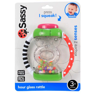Hour Glass Rattle