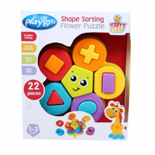 Jerry´s Class Shape Sorting Flower Puzzle