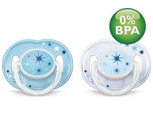 Philips AVENT Soother Nat 0-6 mdr+ - Blå
