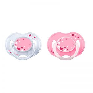 Philips AVENT Soother 0-6 mdr+ - Pink