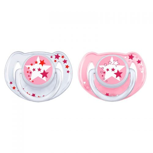 Philips AVENT Soother 6-18 mdr+ - Pink