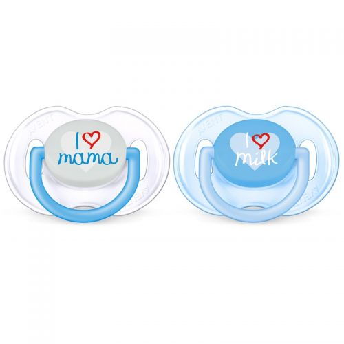 Philips AVENT Soother Fashion I Love You 0-6m - Dreng