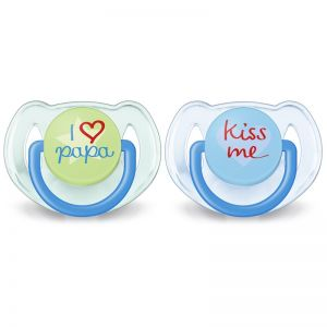 Philips AVENT Soother Fashion I Love You 6-18 mdr - Dreng