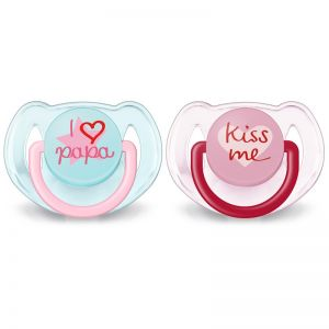 Philips AVENT Soother Fashion I Love You 6-18 mdr - Pige