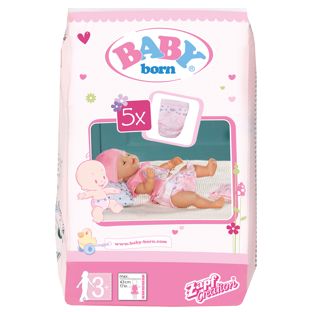 BABY born® Nappies, 5 Pack