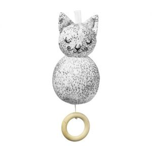 Elodie Details Dots of Fauna Kitty Musical Toy