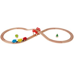 Hape Figure 8 Railway Set