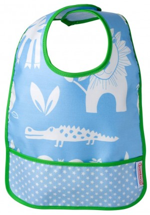 Bambino Easy wipe BIB blue