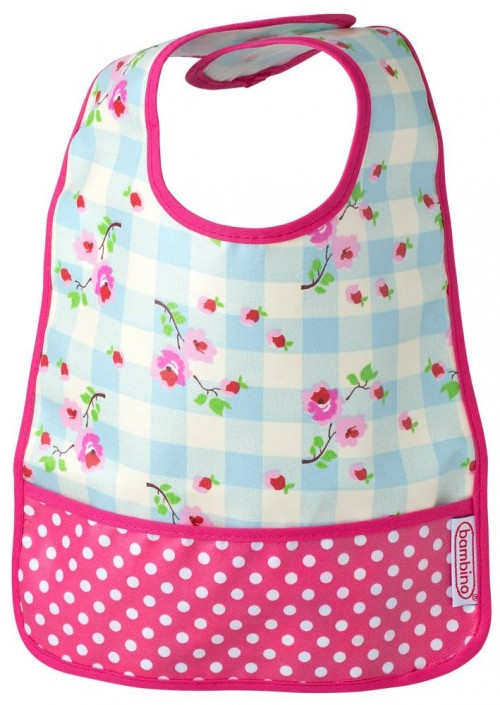 Bambino Easy wipe BIB plaid