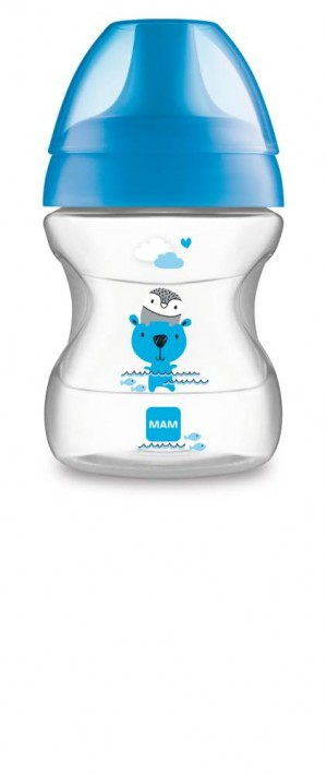 MAM Learn To Drink Cup 190ml BLUE