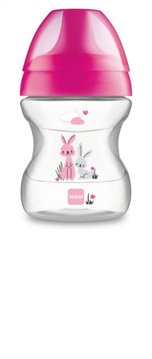 MAM Learn To Drink Cup 190ml PINK