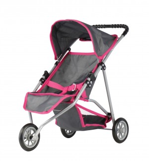 Mini Mommy Dukke Baby Jogger - 3 Hjul