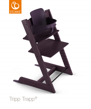 Stokke® Tripp Trapp® Baby Set™ - Plum Purple