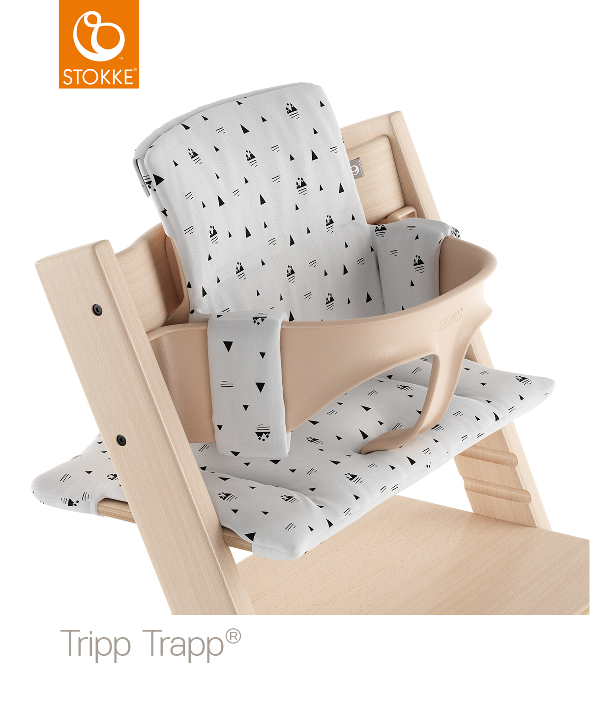 Stokke® Tripp Trapp® Pude – White Mountains