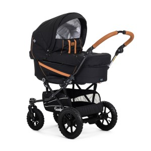 Emmaljunga Edge Dyo Combi  - Outdoor Black