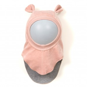 HUTTEliHUT Elefanthue w/ears - Dusty Rose 1-2 Mdr.