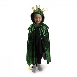 Robetoy Dragon Glitter Gold With Wings 3-8 År