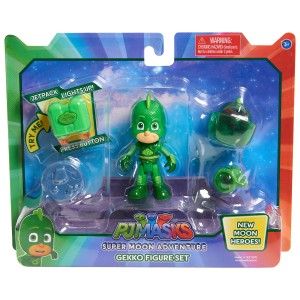 PJ Masks Super Moon Figure Set Gekko