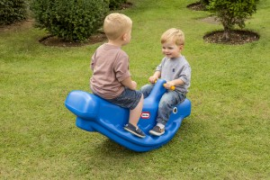 Little Tikes vippe hval