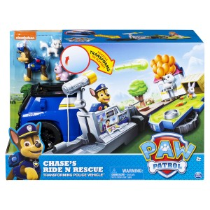 Paw Patrol Roll n Rescue vehicles Chase