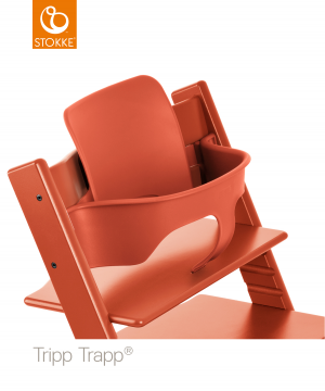 Stokke® Tripp Trapp® Baby Set™ - Lava Orange