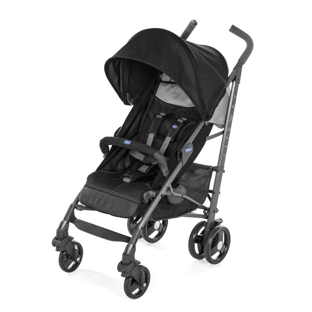 Chicco Liteway 3 paraplyklapvogn, sort