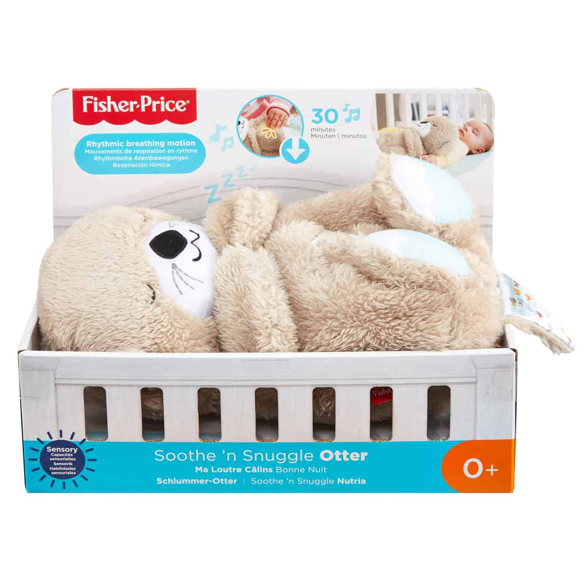 Fisher Price Soothe n Snuggle Otter